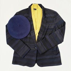 Striped Knit Blazer size XL